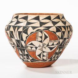 Contemporary Acoma Pottery Jar