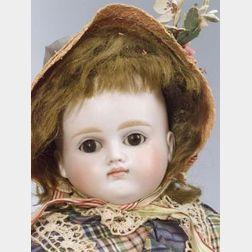 Kestner Closed Mouth Turned Shoulder Head Bisque Doll