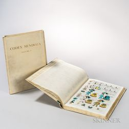 Codex Mendoza, the Mexican Manuscript Known as the Collection of Mendoza and Preserved in the Bodleian Library Oxford.