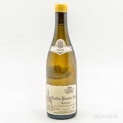 Raveneau Chablis Butteaux 2011, 1 bottle