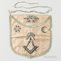 Silk Masonic/Fraternal Apron
