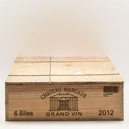 Chateau Margaux 2012, 6 bottles (owc)