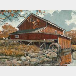 Eric Sloane (American, 1905–1985)      Autumn