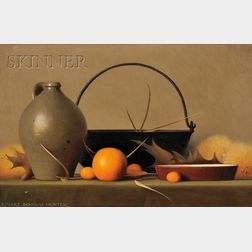 Robert Douglas Hunter  (American, b. 1928)      Orange