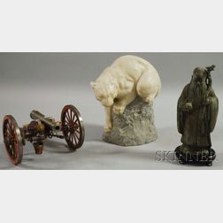 Three Assorted Decorative Items