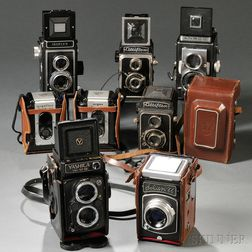Yashica Mat-124 G and Other TLR Cameras
