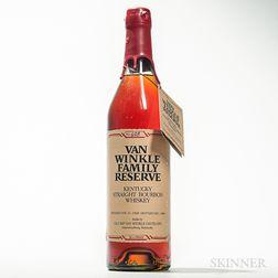 Van Winkle Family Reserve 16 Years Old 1968, 1 750ml bottle