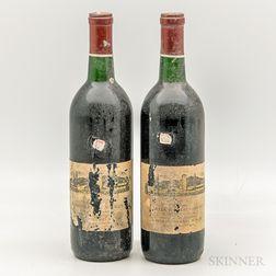 Mondavi Cabernet Sauvignon Napa 1969, 2 bottles
