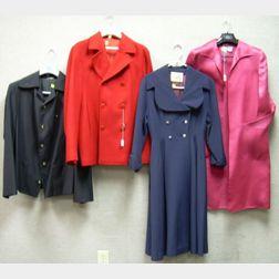 Group of Designer and Vintage Jackets
