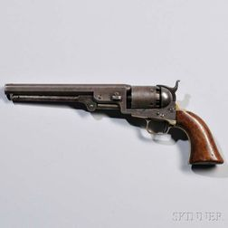 Engraved Colt Model 1851 Navy Revolver