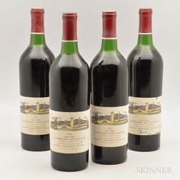 Mondavi Cabernet Sauvignon Reserve 1974, 4 bottles