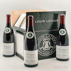 Louis Latour Beaune Les Vignes Franches 2007, 6 bottles (oc)