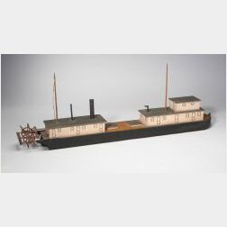 Model of the Steamer  New Orleans