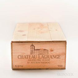 Chateau Lagrange 1989, 12 bottles (owc)