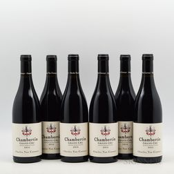 Charles Van Canneyt Chambertin 2015, 6 bottles
