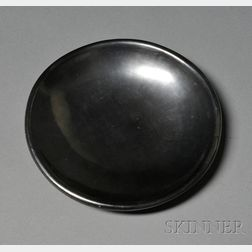 Southwest Polished Blackware Pottery Dish