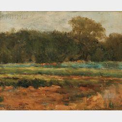 William Merritt Post (American, 1856-1935)      Field