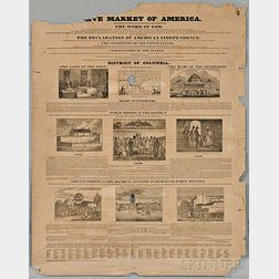 Slave Market of America  , Broadside.