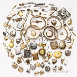 Group of Vintage Jewelry