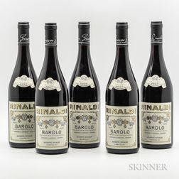 Rinaldi Barolo Cannubi San Lorenzo Ravera 2007, 5 bottles