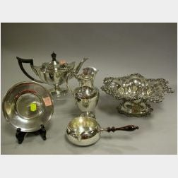 Five Sterling and Coin Silver Items