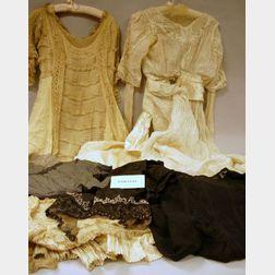 Group of Edwardian Era Lady's Clothing