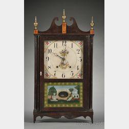 Butler & Henderson & Company Pillar and Scroll Shelf Clock