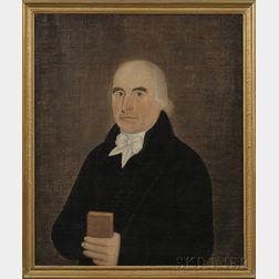 John Brewster (American, 1766-1854)      Pair of Portraits of Captain John Low (1745-1827) and His Wife Sara (Herrick).