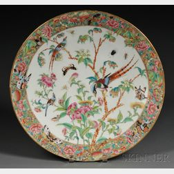 Chinese Export Porcelain Charger
