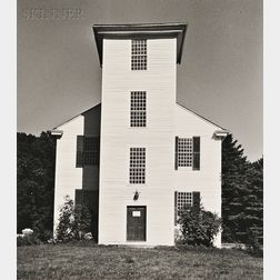 Walker Evans (American, 1903-1975)      Clapboard Church.