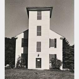 Walker Evans (American, 1903-1975)      Clapboard Church.