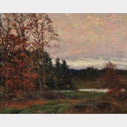 William Merritt Post (American, 1856-1935)      Vista