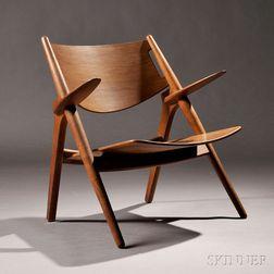 Hans Wegner (1914-2007) Design Sawbuck Chair