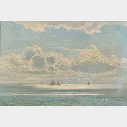William Pye (English, fl. 1881-1917)      Sliver of Sea & Sky