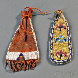 Two Plains Beaded Pouches