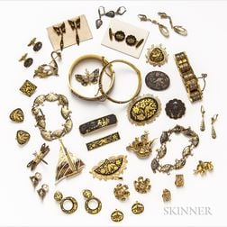 Group of International Gold-plated Costume Jewelry