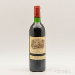 Chateau Lafite Rothschild 1982, 1 bottle