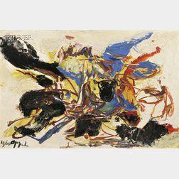 Karel Appel (Dutch, 1921-2006)      Presque Une Joie