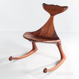 Hunter Studios Whale Fluke Rocking Chair