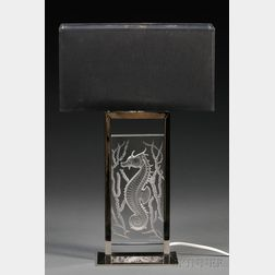 Lalique Poseidon Lamp