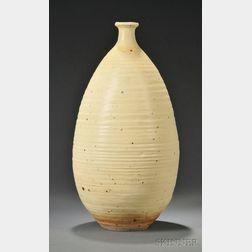 Large Otto Heino Stoneware Bottle