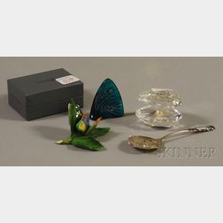 Four Small Collectible and Decorative Items