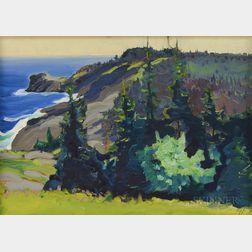 Christopher Huntington (American, b. 1938)      Island Magic
