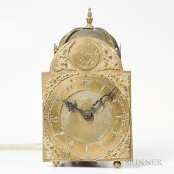 William Clarke Lantern Clock for the Turkish Market