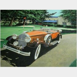 James B. Deneen (American, 20th/21st Century)  1931 Packard Straight 8 Dual Cowl Phaeton
