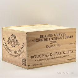 Bouchard Beaune Greves lEnfant Jesus 2006, 6 bottles (owc)