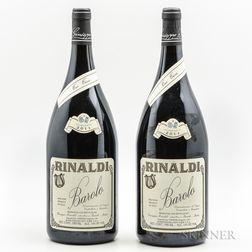 Rinaldi Barolo Tre Tine 2011, 2 magnums