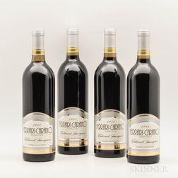 Ferrari Carari Cabernet Sauvignon Sonoma County 1991, 4 bottles