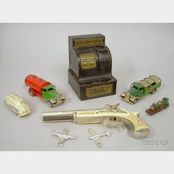 Nine Assorted Small Toys