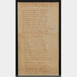 Attributed to Burns, Robert (1759-1796)